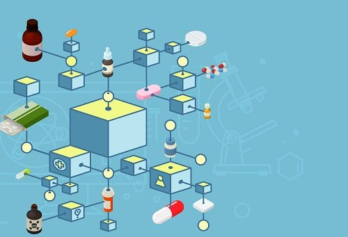 blockchain and IoT software Pharma
