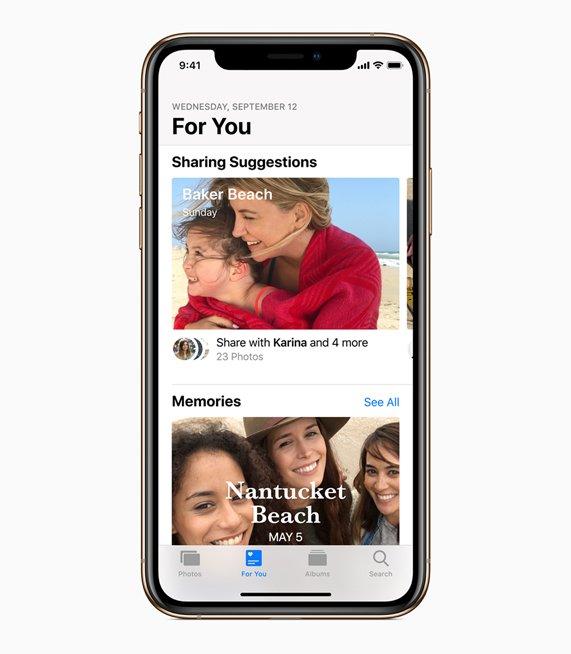 iOS 12 Features photos