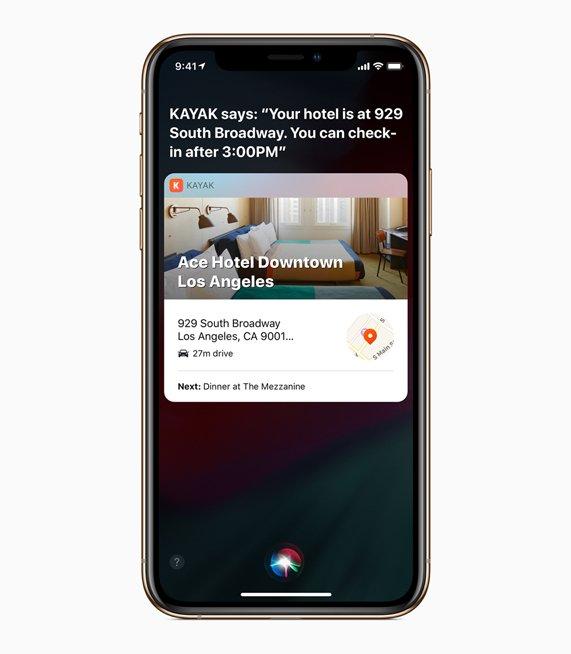iOS 12 Features siri