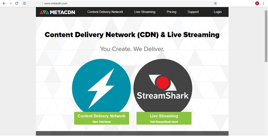 Top CDN provider MetaCDN