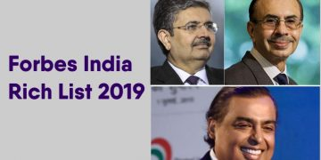 Forbes India Rich List 2019